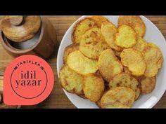 Fırında Patates Cipsi Nasıl Yapılır? - İdil Yazar - Yemek Tarifleri - Potato Chips - YouTube