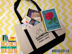 YOU CAN WIN this goodie bag! Follow Midland County Public Library on Facebook and share this post with the hashtag #BIB2014. A winner will be selected Wed. August, 27th.