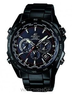 Men s Casio Edifice Alarm Chronograph Watch Casio Edifice 8cc825a723f8