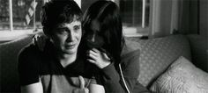 Stuck in love. This scene broke my heart. Logan Lerman and Lily Collins. I wanted to jump through my TV and comfort him when his mother died. Logan Lerman, Lily Collins, Writing Inspiration, Character Inspiration, Stuck In Love, Crying Gif, Boy Images, Nerd, My Heart Is Breaking