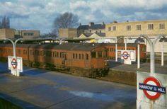 HARROW-ON-THE-HILL | HARROW | LONDON | ENGLAND: *London Underground: Metropolitan Line* Photo: 1951