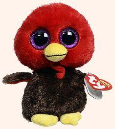 Gobbles (2013) - turkey - Ty Beanie Boo Ty Beanie Boos f6e8b4521b99