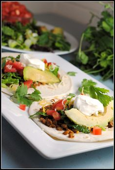These look yummy, I'm omitting the dairy and using either corn or whole grain(low carb) tortillas instead! Yum