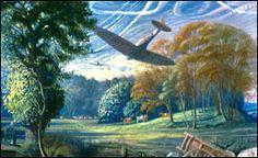 John Nash - Image detail for -Encyclopedia of British Neo-Romanticism :: beta! British Artist, Cool Landscapes, Landscape Paintings, Visionary, Ww1 Art, Romanticism Artists, War Art, English Artists, Landscape Art