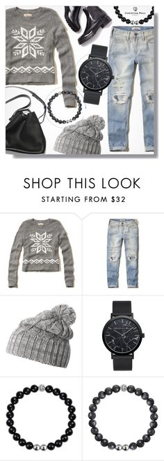"""Winter is Coming ~ Christian Paul Watches"" by alexandrazeres ❤ liked on Polyvore featuring Hollister Co., 3.1 Phillip Lim, Helly Hansen, Winter, watch, bracelet, 15 and christianpaul"