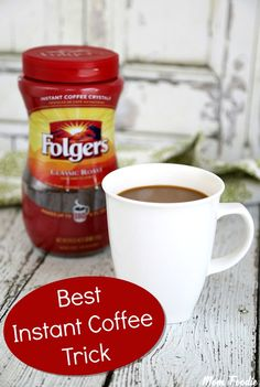 how to make a good cup of instant coffee