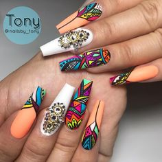 Best Acrylic Nails Part 10 Glam Nails, Dope Nails, Fancy Nails, Bling Nails, Matte Stiletto Nails, Purple Nails, Coffin Nails, Nail Swag, Fabulous Nails