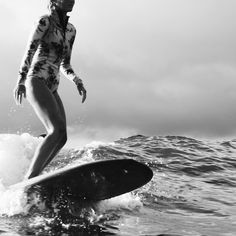 Morning surf + floral neoprene = perfection / Amuse Society