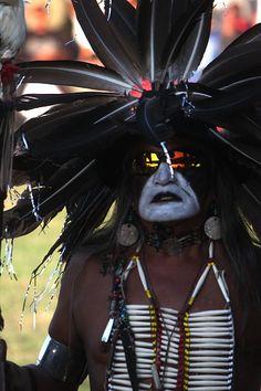 Lakota dancer taken during Grand Entry of Rosebud Fair in South Dakota.