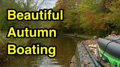 Take the beauty of the #canal, add in a lovely little lake, top of with the #autumn leaves and you have the perfect #boating mixture! #narrowboat #uk #scenery #boats