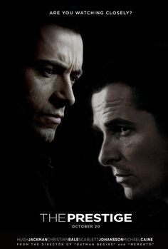 """""""Now you're looking for the secret. But you won't find it because of course, you're not really looking. You don't really want to work it out. You want to be fooled."""" -The Prestige (2006)"""