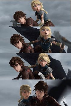 I love how Astrid gets so fierce Httyd, Night Fury Dragon, Dragon Names, Hiccup And Astrid, How To Train Dragon, Odd Couples, Dragon Rider, Happy Together, Disney And More