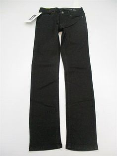 3230960a new CALVIN KLEIN Jeans Women's Size 2 Stretch Low Rise Ultimate Skinny Fit  Black #fashion