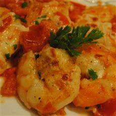 Shrimp Scampi and Tomato Broil Recipe - low carb dinner,