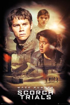 Maze Runner 2 Collage - Official Poster. Official Merchandise. Size: 61cm x 91.5cm. FREE SHIPPING