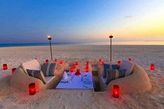 Romantic dinner idea.