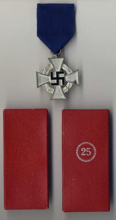 25 Year Long Service Medal