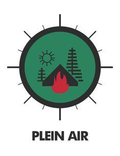 Repère Plein air éclaireurs - Association des scouts du Canada - www.gabrielraymondgraphisme.com
