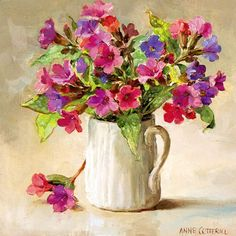 Joseph and Mary | Mill House Fine Art – Publishers of Anne Cotterill Flower Art