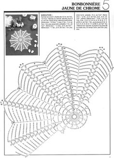 1000 mailles № 41 11 1981 — yandex disk Free Crochet Doily Patterns, Crochet Snowflake Pattern, Crochet Circles, Crochet Snowflakes, Crochet Mandala, Crochet Chart, Thread Crochet, Filet Crochet, Crochet Motif