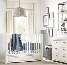 RH Baby & Child's Haven Storage Panel Crib:Designed with a minimum of adornment and a multitude of built-in storage, the pieces in our Haven collection blend beautifully with both antique and modern furnishings. Best of all, they offer unrivaled – and much welcomed – functionality.