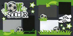 Love Soccer Page Kit