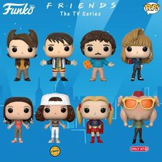 New 'Friends' Funko Pops Include Phoebe as Supergirl
