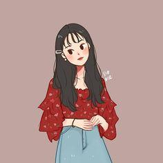 Cartoon Art Styles, Cute Art Styles, Cartoon Drawings, Cute Drawings, Cover Wattpad, Cute Couple Art, Dibujos Cute, Cute Cartoon Wallpapers, Korean Art