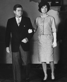 The President and Mrs, Kennedy 1961