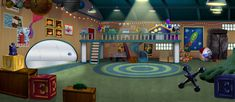 Rocket room Le Hangar, Little Einsteins, Blues Clues, Elmo, Photo Studio, Character Art, Clip Art, Adventure, Cool Stuff