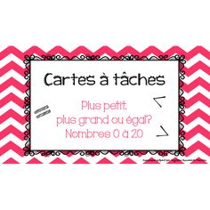 Cartes à tâches - Comparaison Fractions, Numeracy, Learn French, Task Cards, Education, Learning, School, Names, Math Workshop
