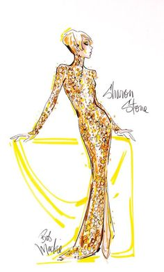 Bob Mackie Design For Sharon Stone