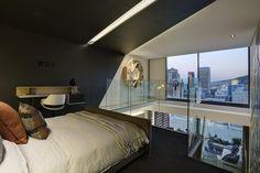 Diseño de dormitorio de apartamento pequeño