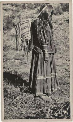 Kiyoueh near Cedar Creek, Arizona - White Mountain Apache - 1919 ༺ ♠ ༻*ŦƶȠ*༺ ♠ ༻