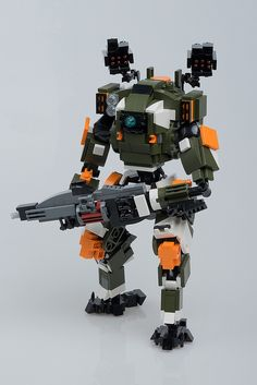 Uphold the mission with LEGO Titanfall 2 BT-7274, Legion, and Tone