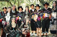 Baraka, John Compton, Mish Mish, Rebaba. Alma Andina / Wayanay and Habi Ru 1994. Mish Mish's Andean Band at Ren. Faire 1994. (acervo pessoal de Mish Mish no Facebook).