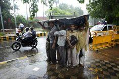 Rain in India.