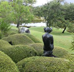 Dylan Lewis Sculpture Garden Garden Features, Water Features, Heather Hills, National Botanical Gardens, Sculpture Garden, Garden Borders, Ecology, Wilderness, Perennials