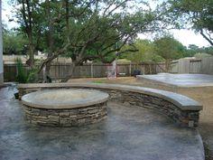 patio ideas on a budget | patio ideas on a budget with firepit ... - Stone Patio Ideas On A Budget