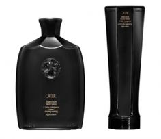 Oribe signature shampoo and conditioner.  I've concluded that shampoo cannot straighten, volumize, or devolumize hair.  Just get a no-nonsense, straight shooting daily cleanser of a good quality.