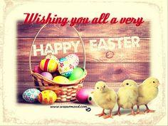 Happy Easter. Wishing you all a very happy Easter. www.wazurmood.com