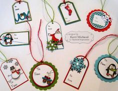 Cards by Kerri: Taylored Expressions Christmas Tags!