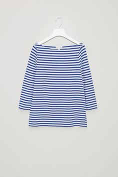 Weekend is coming ... COS image 12 of Striped jersey top in Blue