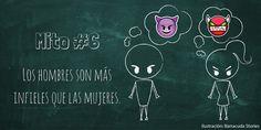 LOS HOMBRES SON MÁS INFIELES QUE LAS MUJERES 8 Cosas que creemos de las mujeres y son falsas. #OchoCosas #ExperienciaCras