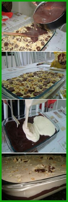 Me Super Encantó ¡El Mejor Postre que he comido en mi vida!   #postres #chocolatelovers #chocolatecake  #cakes #comohacer #lomejor #masa #bread #breadrecipe #pan #panfrances #panettone #panes #pantone #pan #receta #recipe #casero #torta #tartas #pastel #nestlecocina #bizcocho #bizcochuelo #tasty #cocina #chocolate   Si te gusta dinos HOLA y dale a Me Gusta MIREN …