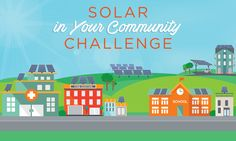 Americans who don't own a home, can't access financing, or don't have enough roof space, have been left out of the #solar boom.   The #SunShot Initiative is calling on schools, businesses, and community serving institutions to create replicable solutions so that all Americans can get access to clean, affordable energy. A new prize competition called the Solar in Your Community Challenge will encourage communities to work together to figure out new ways expand solar access, especially to low…