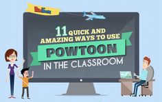 Classroom learning can be AWESOME! Check out these 11 killer tips for quick and amazing ways to use PowToon in your classroom.