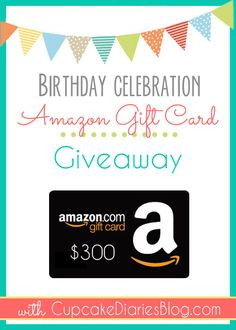 $300 Amazon Gift Card Giveaway up for grabs on the blog peeps! http://prettyprovidence.com/300-amazon-gift-card-giveaway/