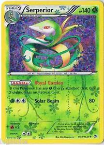 Pokemon Card Legendary Treasures uncommon Serperior RC3/RC25 FREE COMB S&H