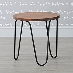 Black Metal Nightstand - Kind of like this for our bedroom or living room or den?